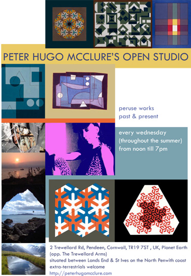 Peter Hugo McClure's Open Studio
